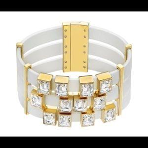 Swarovski element white bracelet 5197106